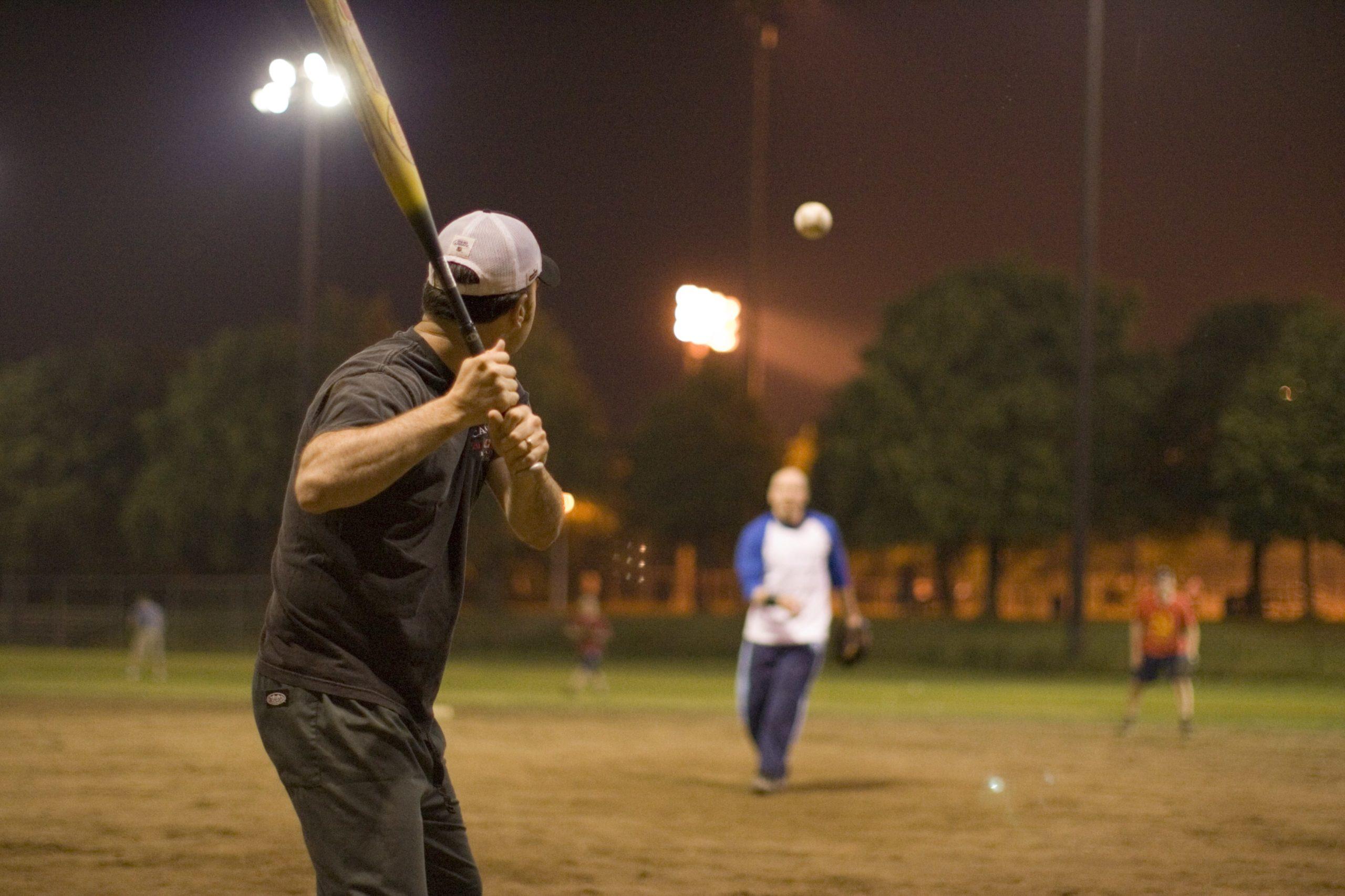 Softball - Action Shot 1-min